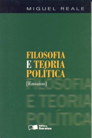 Filosofia E Teoria Política - Ensaios