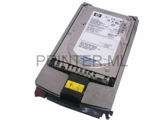 Hd Hp 300gb 15k U320 80pin Scsi Hard Drive Novo 411261-001