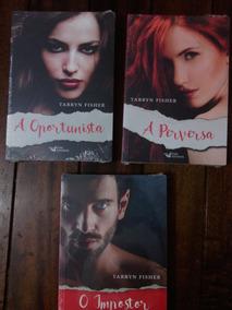03 Livros - O Impostor + A Perversa + A Oportunista - Novos