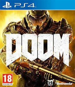 Doom Ps4 Mídia Física