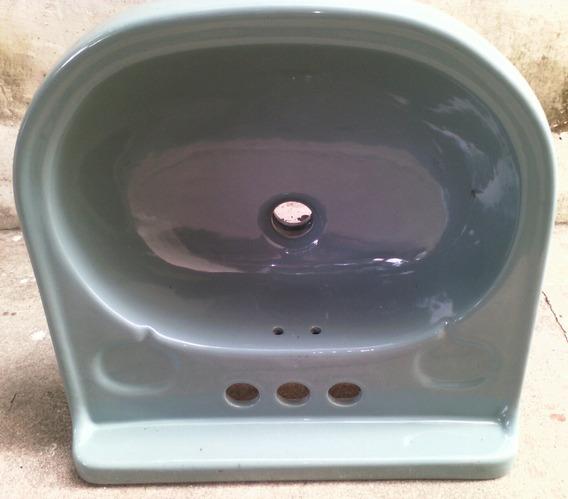 Lavabo Para Baño Nuevo Color Verde Jade