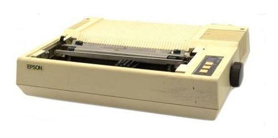 Impressora Matricial Lx 80 - Sem Uso A 20 Anos - Só Retirada