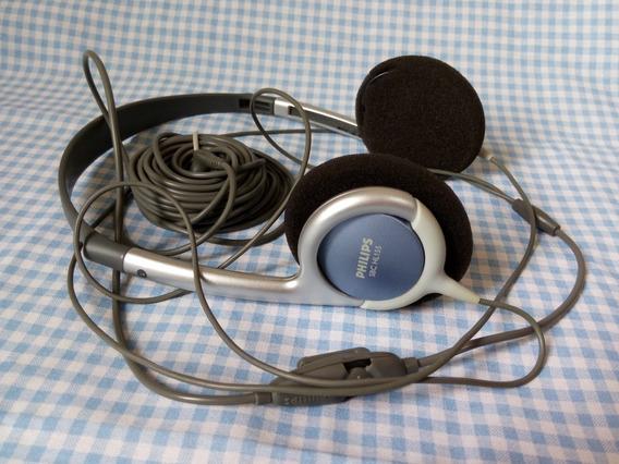 Fone De Ouvido Philips Sbc Hl155 On-ear Usado Bom Estado
