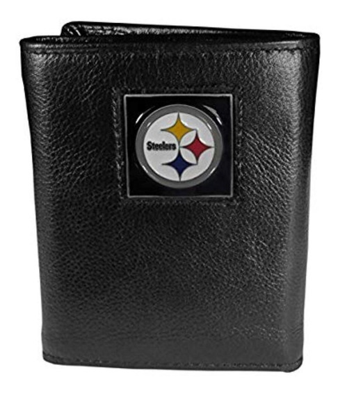 Cartera Steelers Original Nfl Piel