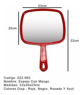 Espejo C/mango Peluqueria