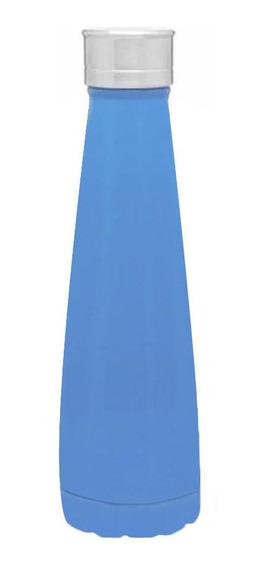 Botella Acero Inoxidable Térmica Azul