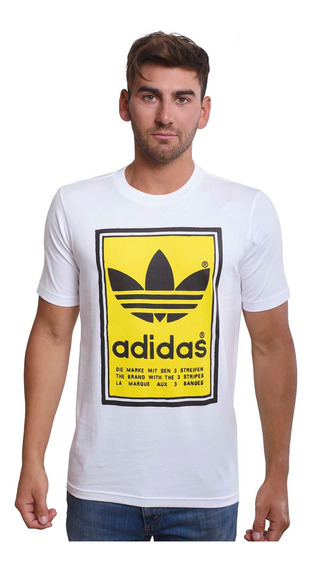 Remera adidas Originals Filled Label -ed6937