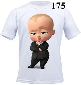 Camiseta Infantil Personalizada O Poderoso Chefinho
