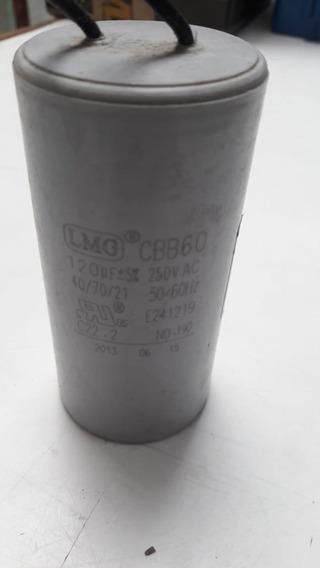 Capacitor 120uf 127v Guincho Motomil 107 Ha-105 (original)