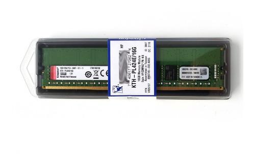 Imagem 1 de 4 de Memória 16gb Ddr4-2400 Ecc Udimm T30 T130 T330 R230 R330 Nf