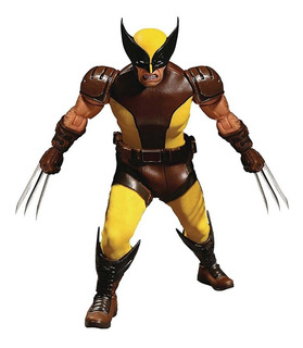 Marvel X-men Wolverine - Mezco One:12 Collective Robot Negro