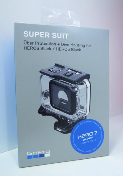 Caixa Estanque Super Suit Original Gopro Hero 5/6/7 Black