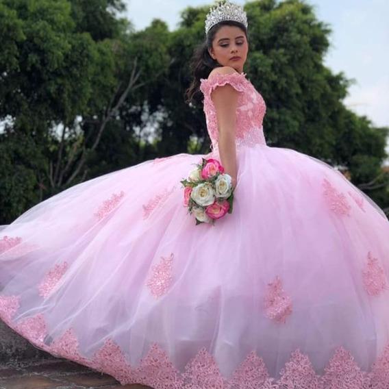 Vestido Xv Color Pastel Vestidos En Mercado Libre México