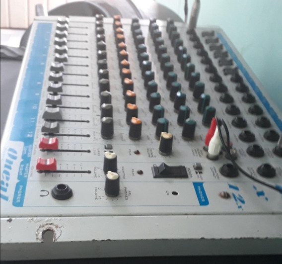 Mesa De Som 12 Canais Oneal Audio