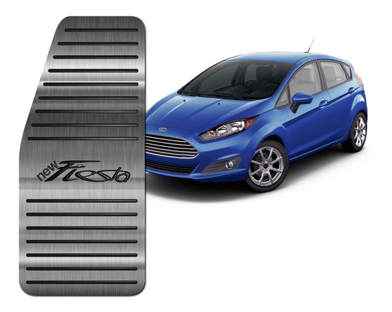 Descanso De Pé Aço Inox Premium Ford New Fiesta