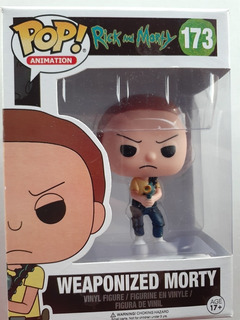 Funko Pop Animation Rick And Morty Weaponized Morty #173