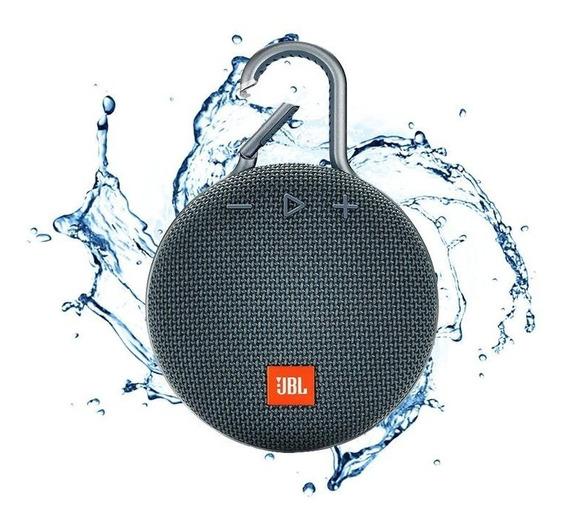 Caixa De Som Bluetooth Jbl Clip 3 Original 3,3w - Preto
