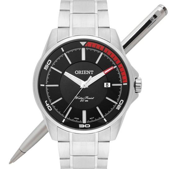 Relógio Orient Masculino Mbss1296 P1sx Analógico - C/ Nfe