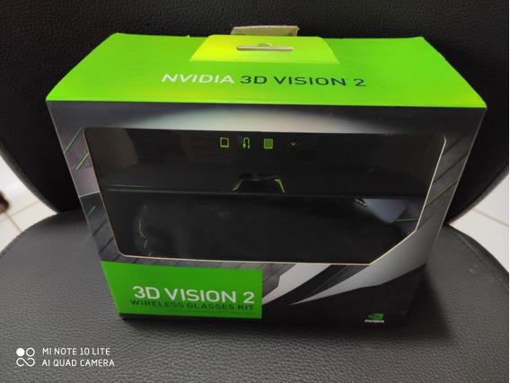 Nvidia 3d Vision 2 - Kit Novo