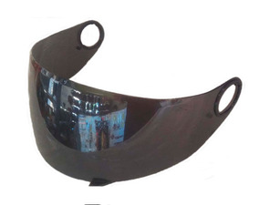 Viseira Compativel Capacete Helt New Race Glass Cromada