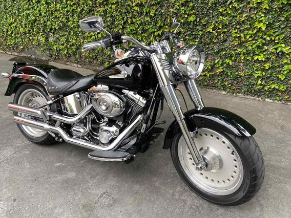 Harley-davidson Fat Boy Preta