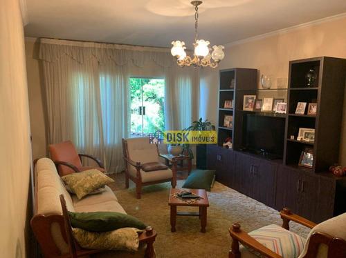 Imagem 1 de 14 de Sobrado Com 3 Dormitórios À Venda, 241 M² Por R$ 990.000,00 - Conjunto Habitacional Franchini - São Bernardo Do Campo/sp - So0729