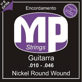 Encordoamento Mp Paganini (violão Aço E Nylon ,guitarra)