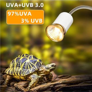 Foco Con Rayos Uvb + Uva Para Tortugas, Reptiles