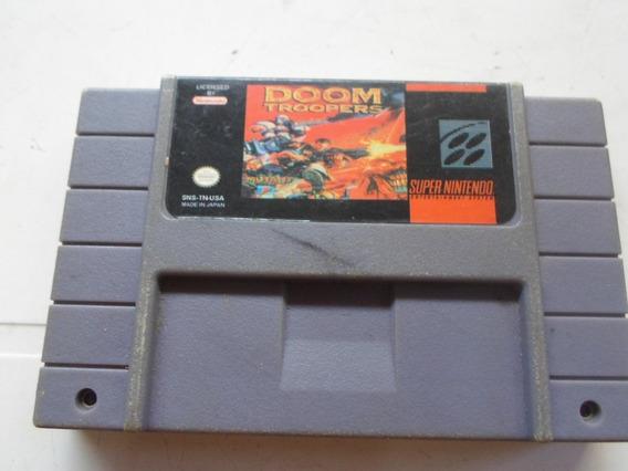 Jogo Doom Troopers Para Super Nintendo