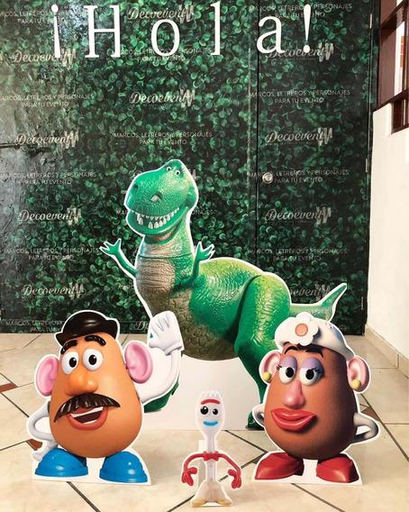 Set De 4 Piezas Para Decoración De Fiestas De Toy Story