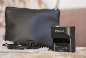 Gravador Tascam Dr-10l + Microfone Lapela Tascam