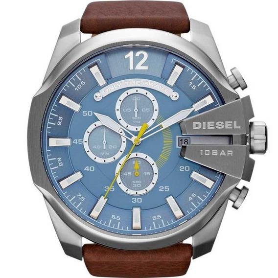 Relógio Diesel Original Esportivo Puls. De Couro Dz4281/0an