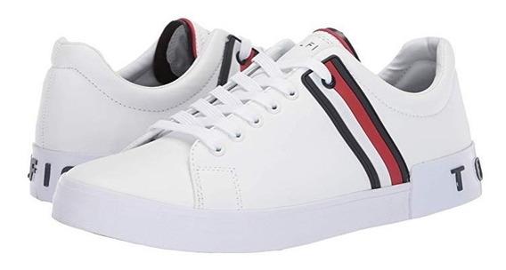 Tenis Tommy Hilfiger Mod. Ramus Sneaker Blanco De Hombre / J