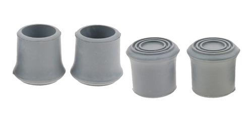 YINETTECH 16 Piezas de Bastones de Senderismo y Senderismo con Tapas Protectoras de Goma 11 mm de di/ámetro Interior