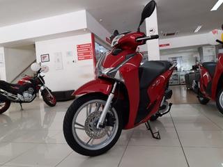 Honda Sh 150i 0km Emplacada - Belém E Região