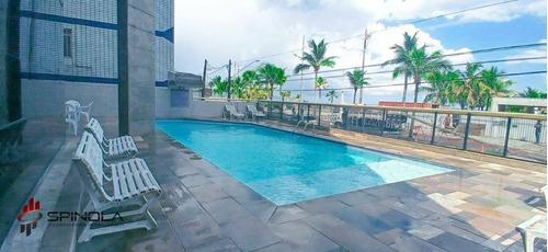 Apartamento Com 1 Dormitório À Venda, 58 M² Por R$ 265.000,00 - Vila Tupi - Praia Grande/sp - Ap3492