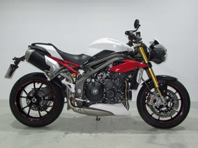 Triumph - Speed Triple R 1050 - 2016 Branca
