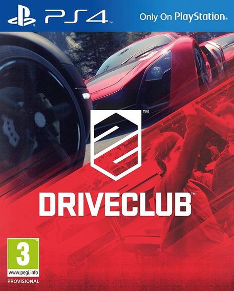 Driveclub Para Ps4 Mídia Física Novo Lacrado