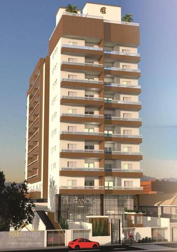 Imagem 1 de 13 de Apartamento Com 2 Dormitórios À Venda, 63 M² Por R$ 330.510 - Aviação - Praia Grande/sp - Ap2415