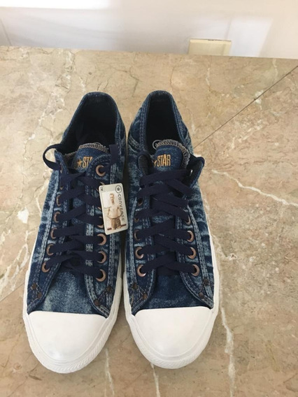 Tênis Converse Importado Em Jeans
