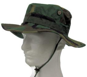 Sombrero Militar Táctico Boonie Hat Woodland