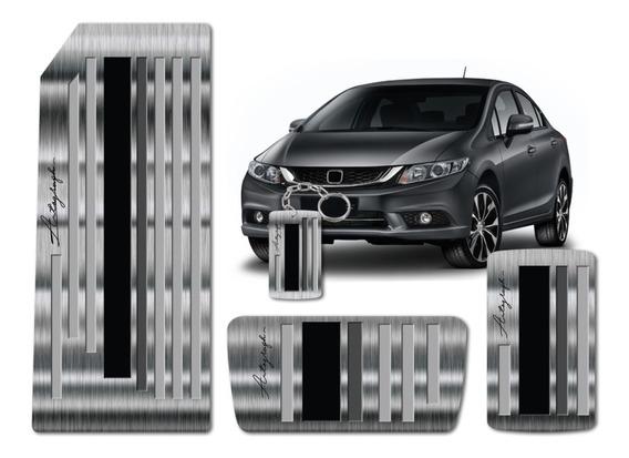 Pedaleira E Descanso De Pé Honda Civic Geração 9