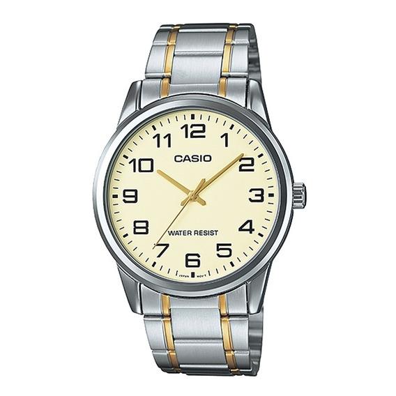 Relógio Casio Masculino Mtp-v001sg 9bu Misto Analógico