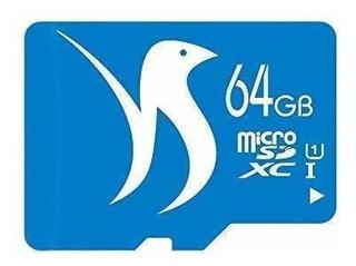 Fattydove Micro Sd Card 64gb Microsd Card Class 10 Uhs-i Hig