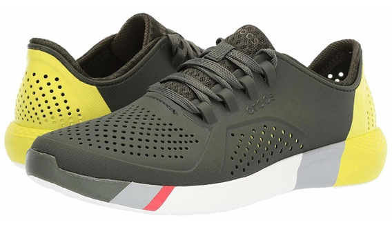 Crocs Literide Colorblock Pacer Tenis Sneaker 23 Mex