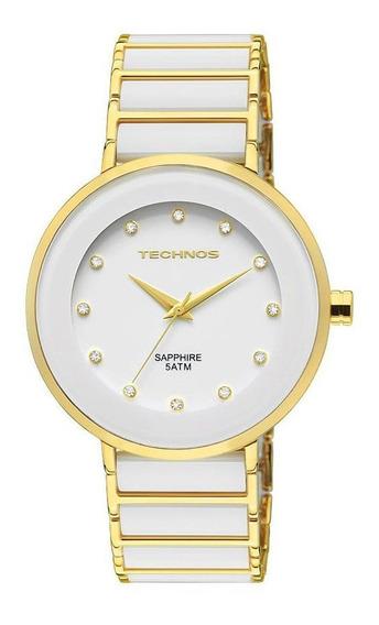 Relógio Technos Feminino Ceramic Sapphire 2015lmm/4b
