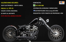 Soat Moto Lineal Placa Lima 917859486
