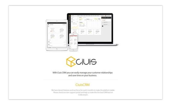 Ciuis Crm - Gerenciador Empresarial Script Em Português