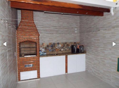 Sobrado Com 3 Dormitórios À Venda, 108 M² Por R$ 530.000,00 - Parque Jaçatuba - Santo André/sp - So1364