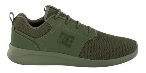 Tenis Dc Shoes Midway Verde Olivo #29 Nuevos - Adys700136
